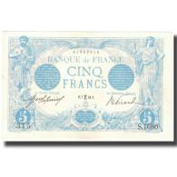 France, 5 Francs, Bleu, 1913-02-07, SPL, Fayette:2.14, KM:70 - 1871-1952 Circulated During XXth