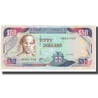 Billet, Jamaica, 50 Dollars, 2008, 2008-01-15, KM:79e, NEUF - Jamaique