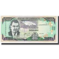 Billet, Jamaica, 100 Dollars, 2007, 2007-01-15, KM:84e, NEUF - Jamaique