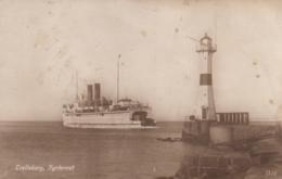 AK - TRELLEBORG Fyrtornet - Dampfer Vor Dem Alten Leuchtturm - 1923 - Schweden
