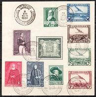 BL2  Armes De La Ville D'Anvers - Oblit. - LOOK!!!! - Blocks & Sheetlets 1924-1960