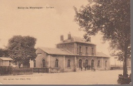 RILLY LA MONTAGNE - LA GARE - Reims