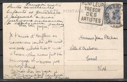 Frankreich Postkarte Honfleur Nach Cassel Vom 14.9.1928 - Storia Postale