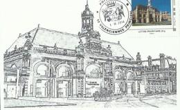 "2014 ""MON-TIMBRE-A-MOI"" La Gare De VALENCIENNES - France"