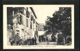 CPA Lespinassiere, Entree Du Village, L Hotel Des Tilleuls - Unclassified