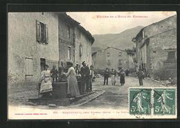 CPA Roquefeuil, Vallee De L Aude Et Environs, La Fontaine - France