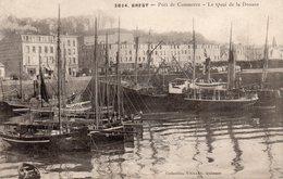 Brest - Port De Commerce - Le Quai De La Douane - Brest