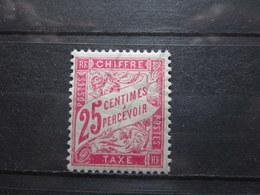 VEND BEAU TIMBRE TAXE DE FRANCE N° 32 , X !!! - 1859-1955 Neufs