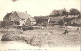 Dépt 14 - COURSEULLES-SUR-MER - Le Vieux Moulin Et Le Château - (LL N° 43) - Artiste-peintre - Courseulles-sur-Mer