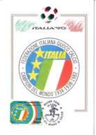 ITALIA 90    1990 MAXIMUM POST CARD (GENN200307) - 1990 – Italië