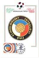 ITALIA 90    1990 MAXIMUM POST CARD (GENN200308) - 1990 – Italië