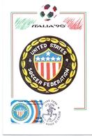 ITALIA 90    1990 MAXIMUM POST CARD (GENN200309) - 1990 – Italië