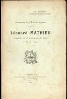 Blois (41 Loir Et Cher) Léonard Mathieu, Organiste De La Cathédrale De Blois  (ed 1902)(PPP11600) - Centre - Val De Loire