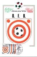 ITALIA 90    1990 MAXIMUM POST CARD (GENN200310) - 1990 – Italië