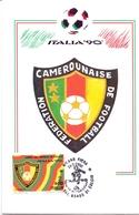 ITALIA 90    1990 MAXIMUM POST CARD (GENN200311) - 1990 – Italië