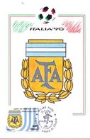 ITALIA 90    1990 MAXIMUM POST CARD (GENN200312) - 1990 – Italië
