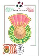 ITALIA 90    1990 MAXIMUM POST CARD (GENN200313) - 1990 – Italië