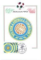 ITALIA 90    1990 MAXIMUM POST CARD (GENN200314) - 1990 – Italië