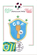 ITALIA 90    1990 MAXIMUM POST CARD (GENN200316) - 1990 – Italië