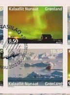 2012 GREENLAND Grönland Gronland Booklet Set Mi. 615-6 Used  Europa - Europa-CEPT