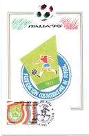 ITALIA 90    1990 MAXIMUM POST CARD (GENN200318) - 1990 – Italië
