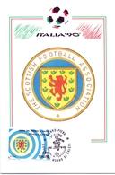 ITALIA 90    1990 MAXIMUM POST CARD (GENN200319) - 1990 – Italië