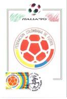 ITALIA 90    1990 MAXIMUM POST CARD (GENN200320) - 1990 – Italië