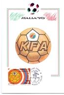 ITALIA 90    1990 MAXIMUM POST CARD (GENN200324) - 1990 – Italië