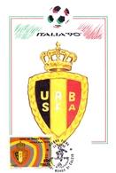ITALIA 90    1990 MAXIMUM POST CARD (GENN200325) - 1990 – Italië