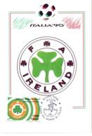 ITALIA 90    1990 MAXIMUM POST CARD (GENN200326) - 1990 – Italië