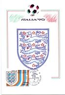ITALIA 90    1990 MAXIMUM POST CARD (GENN200327) - 1990 – Italië