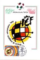 ITALIA 90    1990 MAXIMUM POST CARD (GENN200328) - 1990 – Italië