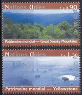 UNO GENF 2003 Mi-Nr. 473/74 ** MNH - Geneva - United Nations Office