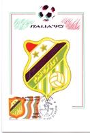ITALIA 90    1990 MAXIMUM POST CARD (GENN200330) - 1990 – Italië