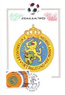 ITALIA 90    1990 MAXIMUM POST CARD (GENN200331) - 1990 – Italië