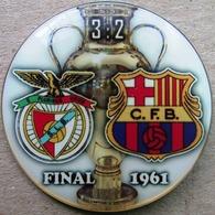 Pin Champions League UEFA Final 1961 Benfica Lisboa Vs Barcelona - Fútbol