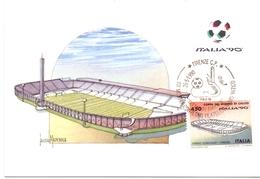 ITALIA 90    1990 MAXIMUM POST CARD (GENN200334) - 1990 – Italië