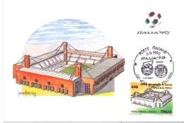 ITALIA 90    1990 MAXIMUM POST CARD (GENN200335) - 1990 – Italië