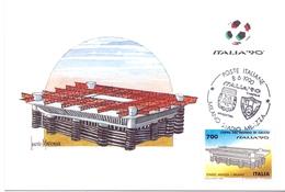 ITALIA 90    1990 MAXIMUM POST CARD (GENN200336) - 1990 – Italië