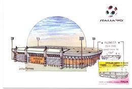 ITALIA 90    1990 MAXIMUM POST CARD (GENN200338) - 1990 – Italië