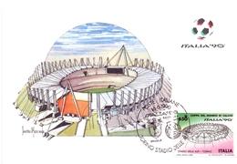 ITALIA 90    1990 MAXIMUM POST CARD (GENN200340) - 1990 – Italië