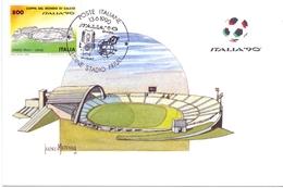 ITALIA 90    1990 MAXIMUM POST CARD (GENN200341) - 1990 – Italië