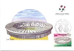 ITALIA 90    1990 MAXIMUM POST CARD (GENN200342) - 1990 – Italië