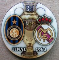 Pin Champions League UEFA Final 1964 Internazionale Milan Vs Real Madrid - Fútbol