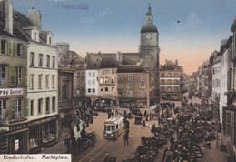 (57) DIEDENHOFEN Marktplatz -  THIONVILLE. Place Du Marché  ( Frey Dentist) - Thionville