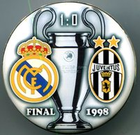 Pin Champions League UEFA Final 1998 Real Madrid Vs Juventus Torino - Fussball