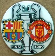 Pin Champions League UEFA Final 2009 Barcelona Vs Manchester United - Fussball