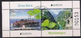 2012 MONTENEGRO  CRNA GORA Mi. Bl 12  Used  Europa - Europa-CEPT