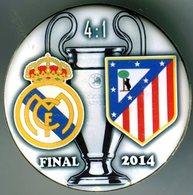 Pin Champions League UEFA Final 2014 Real Madrid Vs Atletico Madrid - Fussball