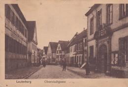 (67) LAUTERBURG ( LAUTERBOURG ) Oberstadtgasse - Lauterbourg